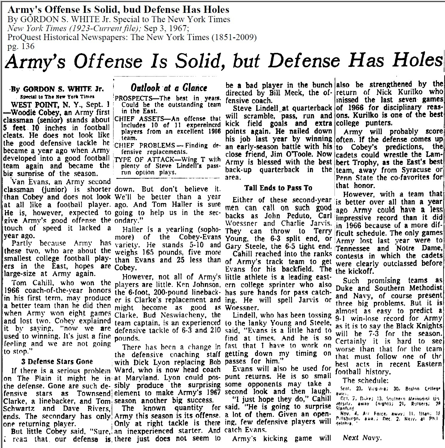 armyfb_1967_forecast_nyt_sep31967