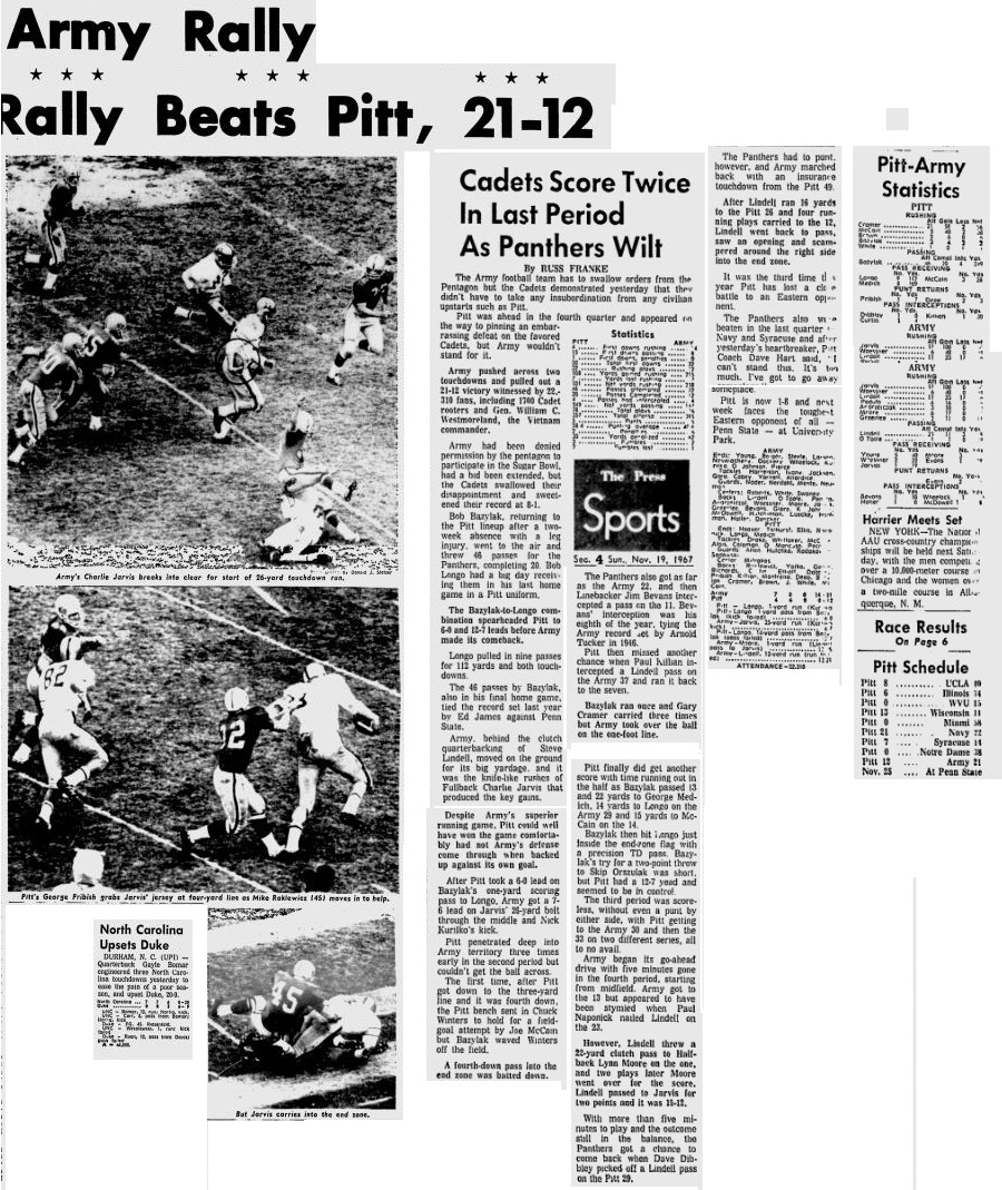 armyfb_1967_vspitt_pittsburghpress_nov191967