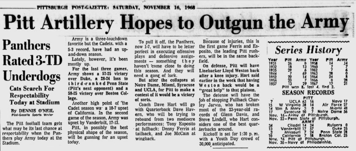 ArmyFB_1968_vsPitt_Pittsburgh-PostGazette_Nov161968.JPG