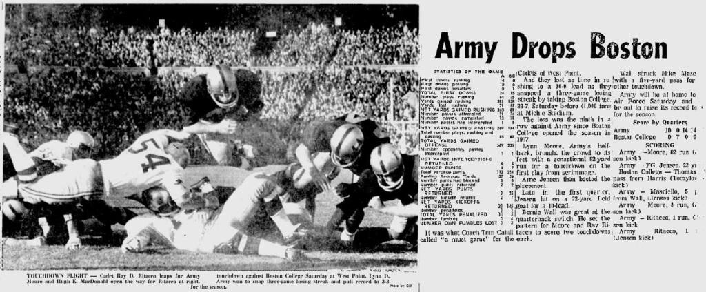 ArmyFB_1969_vsBC-RayRitacco_EveningNews_Oct281969