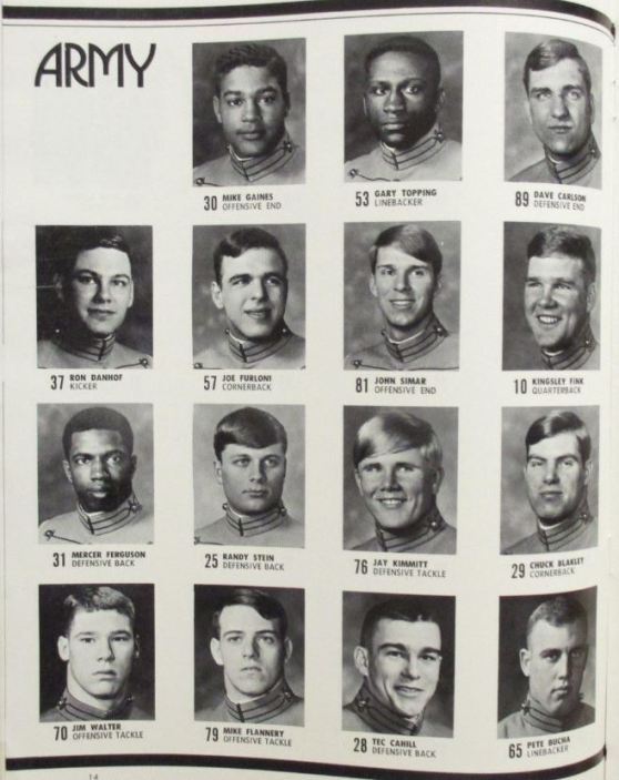 ArmyFB_1971_players2_ArmyFootballProgram