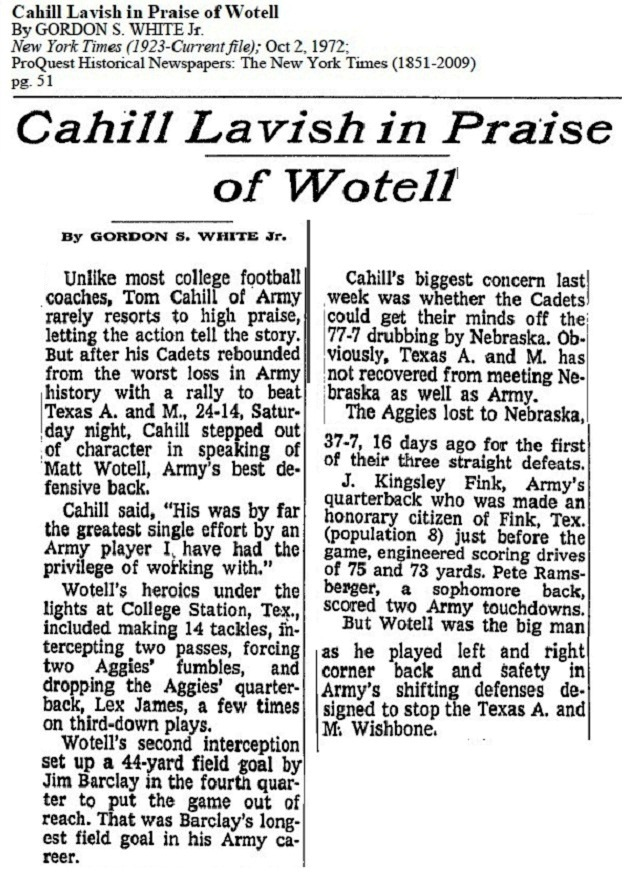 armyfb_1972_wotell_nyt_oct21972