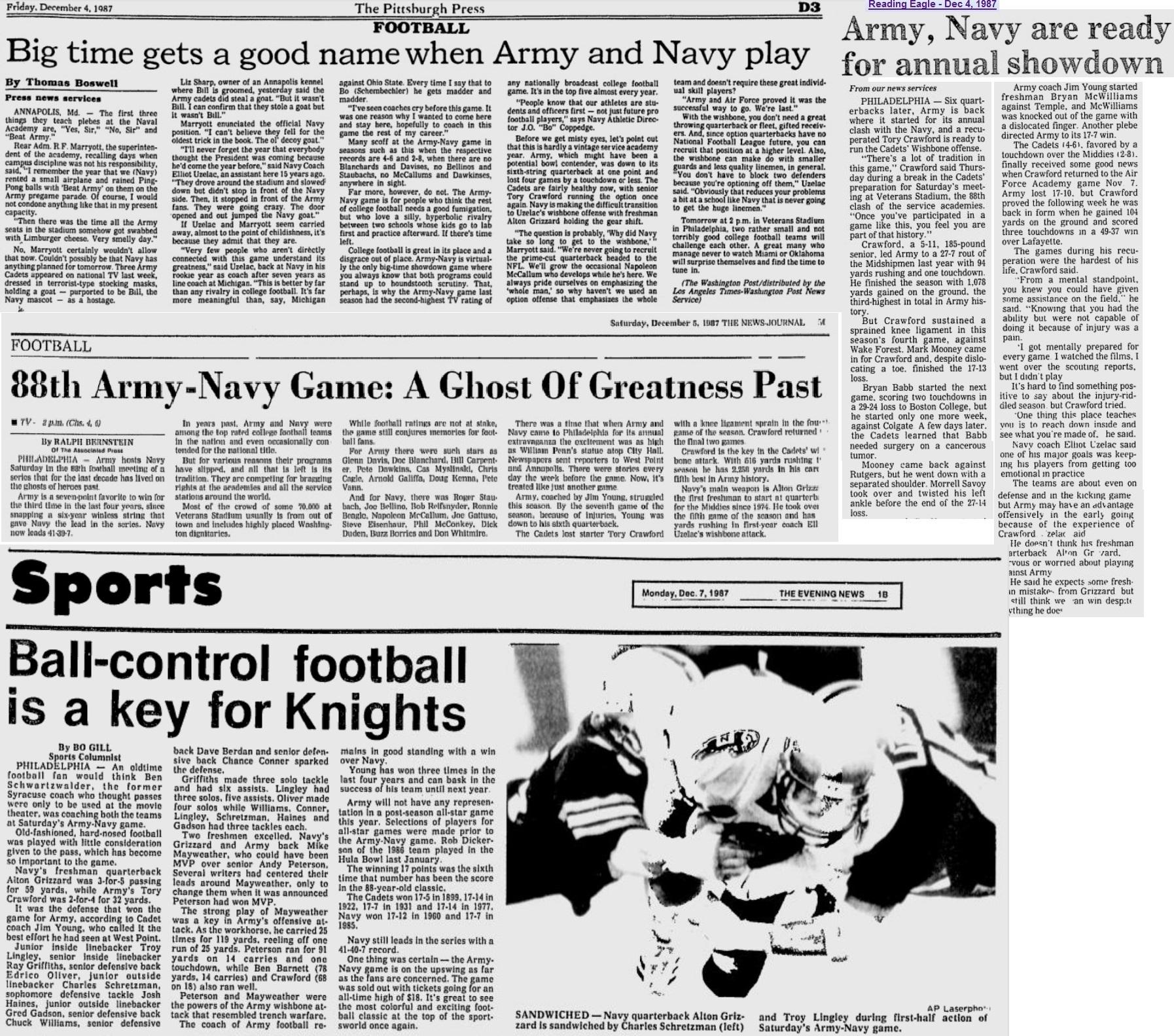 armyfb_1987_vsnavy-pre_various_dec1987