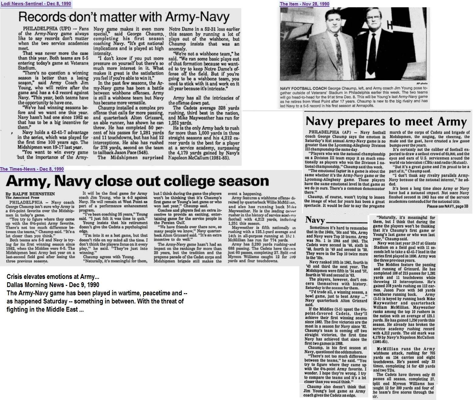 armyfb_1990_vsnavy-pre_various_dec1990