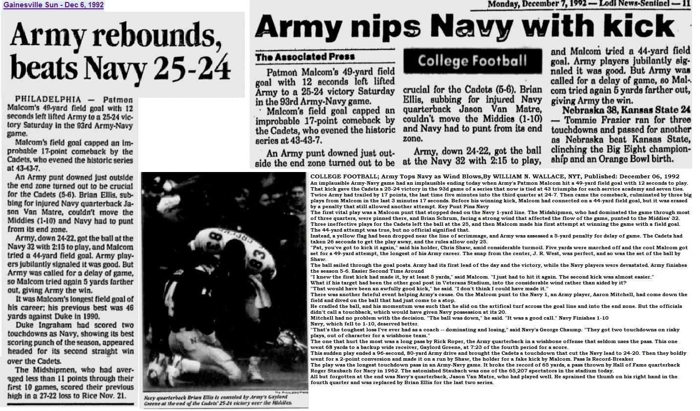 armyfb_1992_vsnavy_various_dec1992