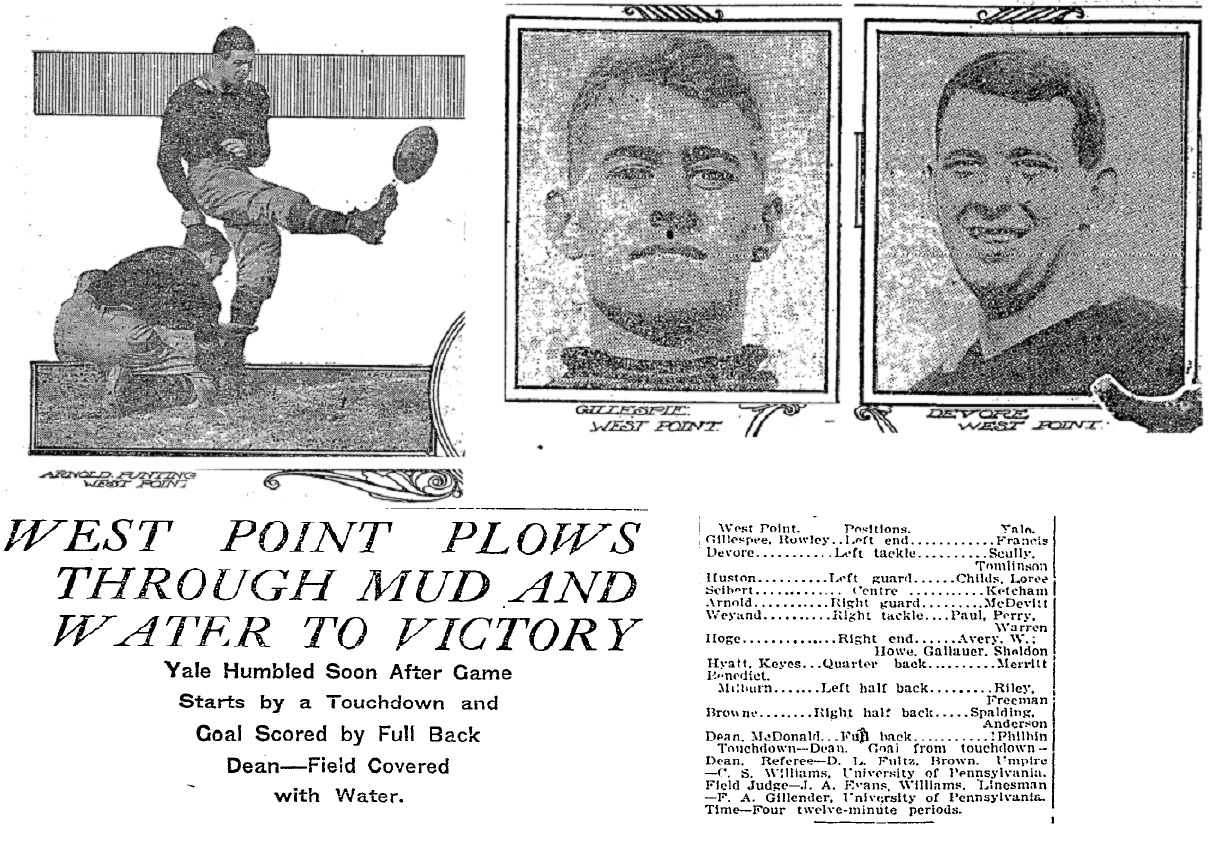 ArmyFB_1911_Stars_vsYale_NYT_Oct221911