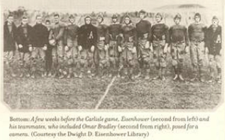 ArmyFB_1912_Eisenhower-Carlisle-game