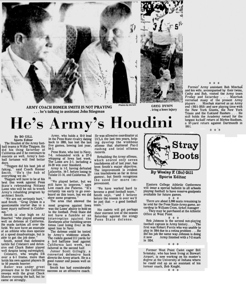 ArmyFB_1974_vsCal-pre_EveningNews_Oct21974