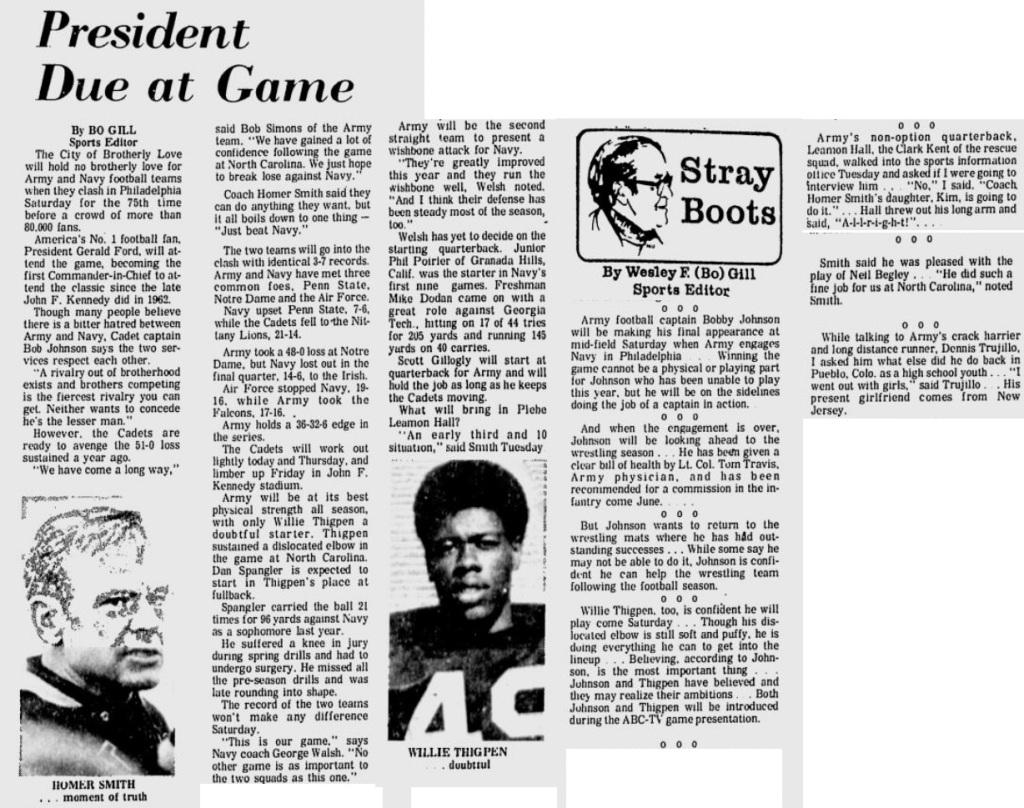 ArmyFB_1974_vsNavy_EveningNews_Nov271974