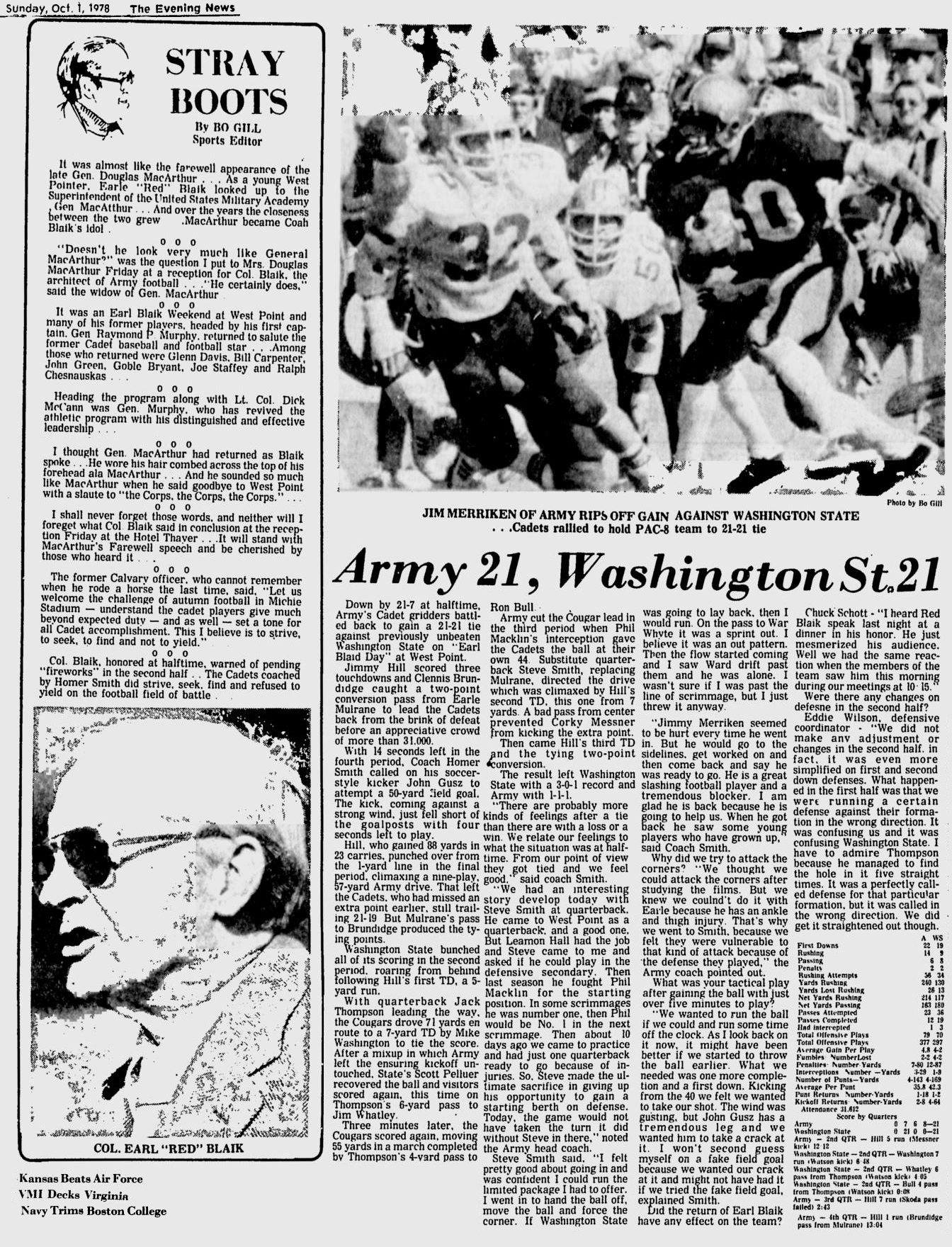 ArmyFB_1978_vsWashingtonState_EveningNews_Oct11978