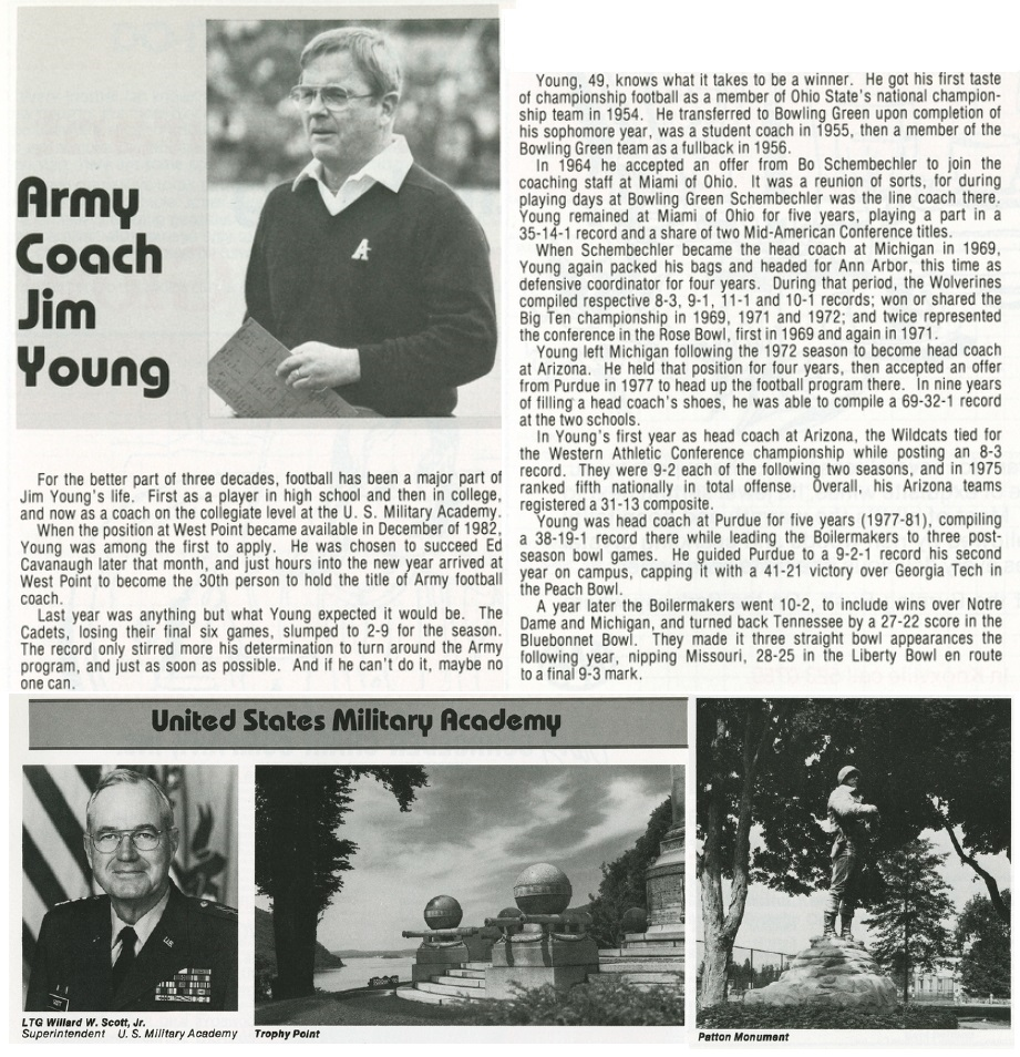 ArmyFB_1984_JimYoung_vsTenn_program_22Sep1984