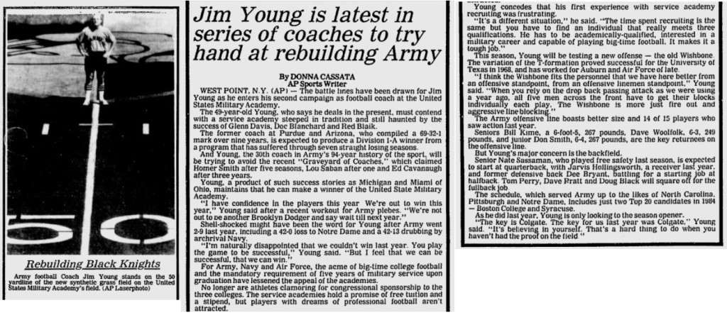 ArmyFB_1984_YoungRebuilds_EveningNews_Sep71984