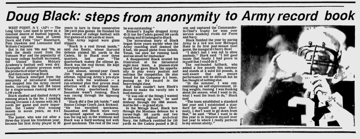 ArmyFB_1985_DougBlack_NewburghEveningNews_Sep121985