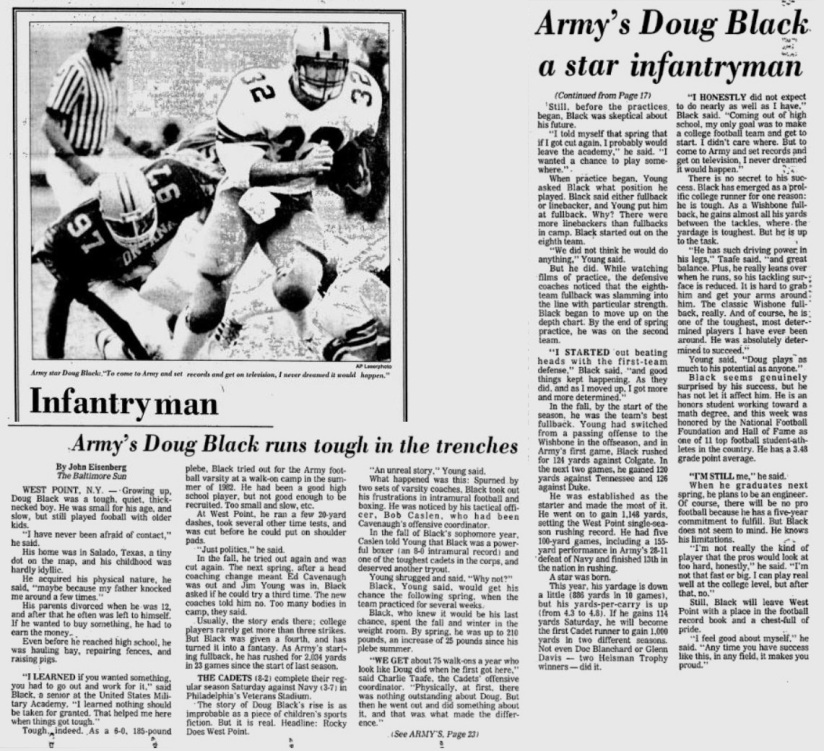 ArmyFB_1985_DougBlack_ReadingEagle_Dec61985