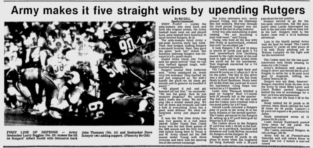 ArmyFB_1985_vsRutgers_EveningNews_Sep221985