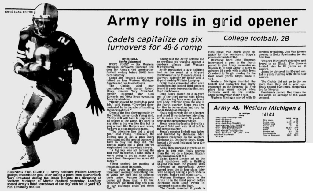 ArmyFB_1985_vsWMichigan_EveningNews_Sep151985
