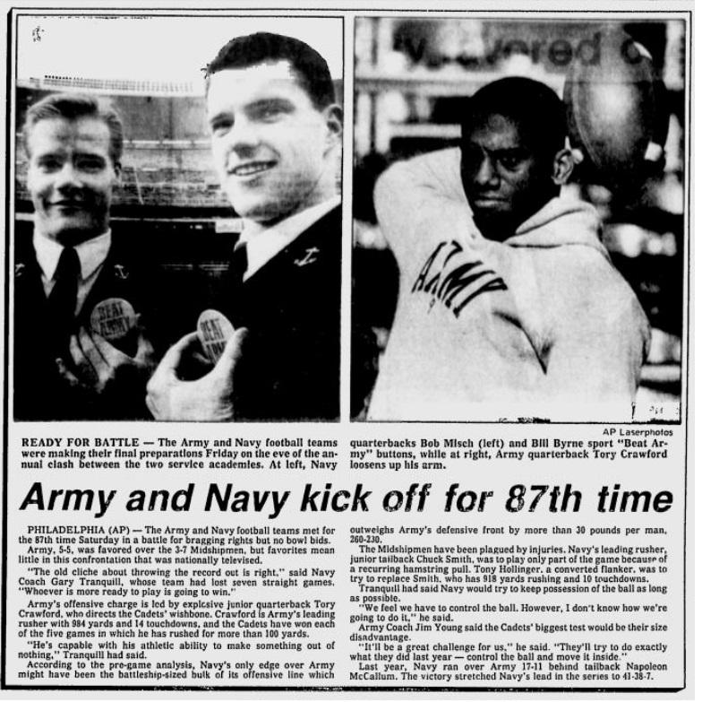 ArmyFB_1986_vsNavy-pre_EveningNews_Dec61986