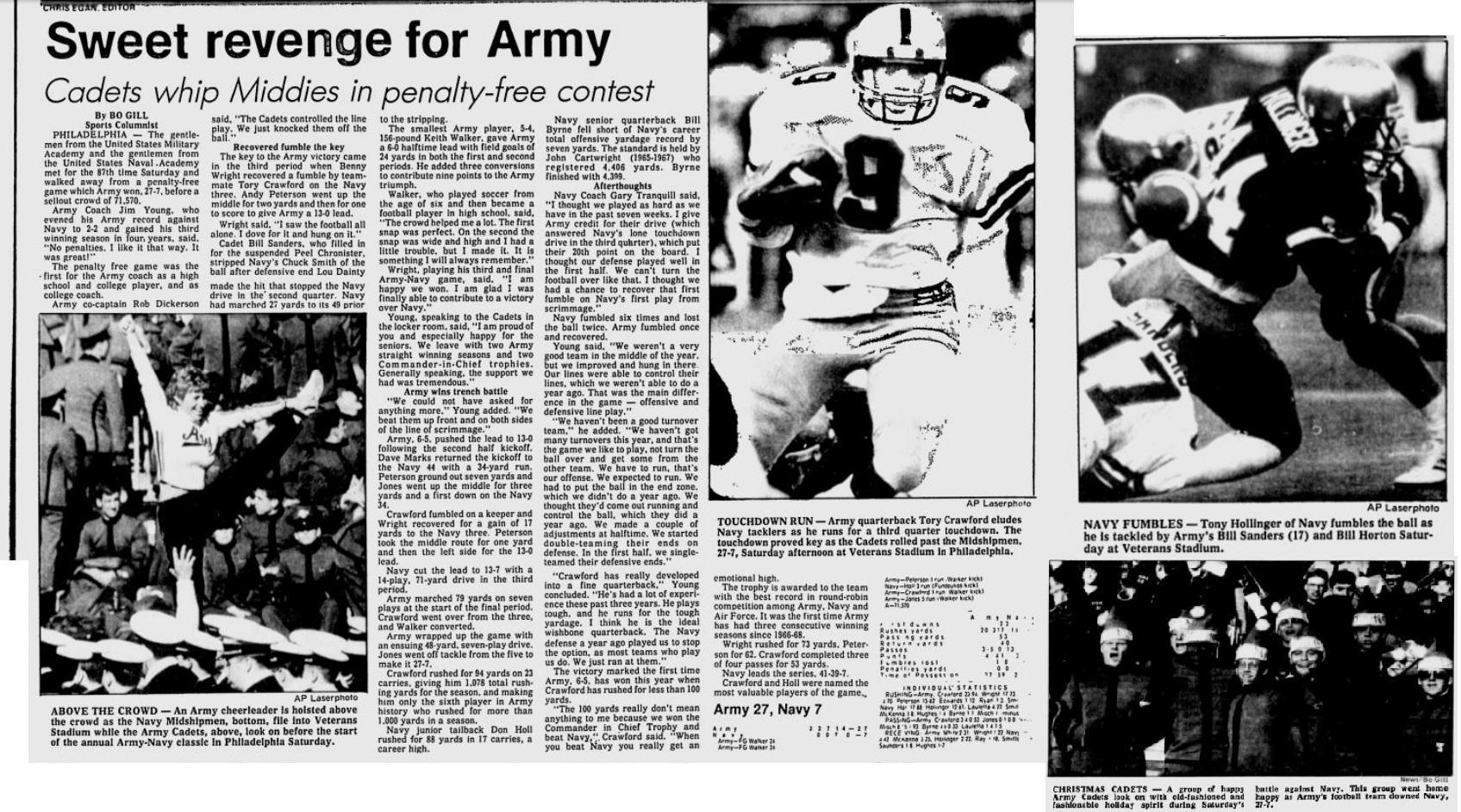 ArmyFB_1986_vsNavy_EveningNews_Dec71986