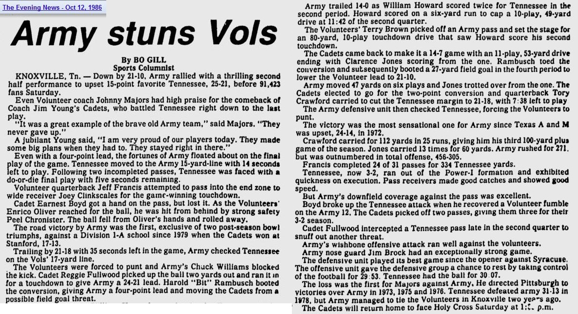 ArmyFB_1986_vsTennessee_EveningNews_Oct121986
