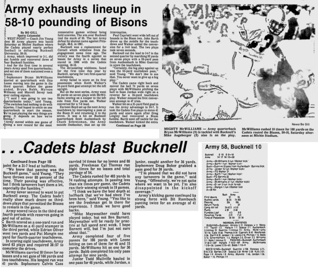 ArmyFB_1988_vsBucknell_EveningNews_Oct21988
