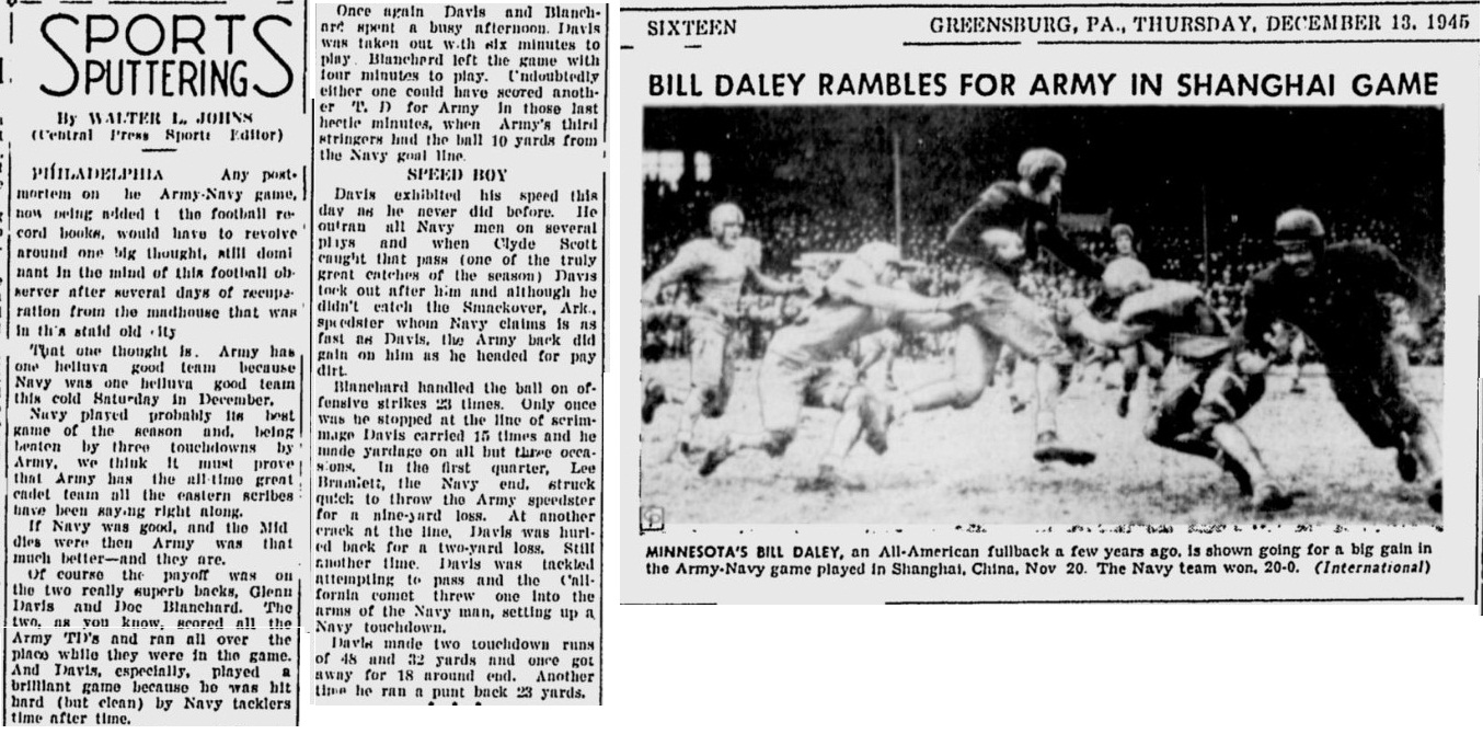 armyfb_1945_vsnavy-servicegameinshanghaichina_greensburgdailytribune_dec131945