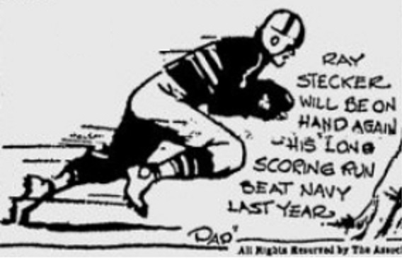 ArmyFB_1931_RayStecker_byPap_SpokaneDailyChronicle_Dec51931