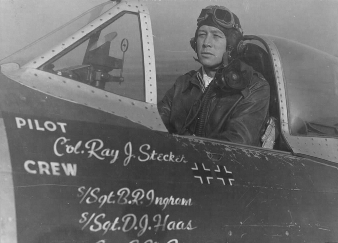 ColRayJStecker_WWII_FighterPilot