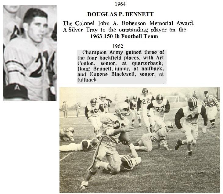DougBennett_1964_ArmyLFB-1963_RobensonMVP63