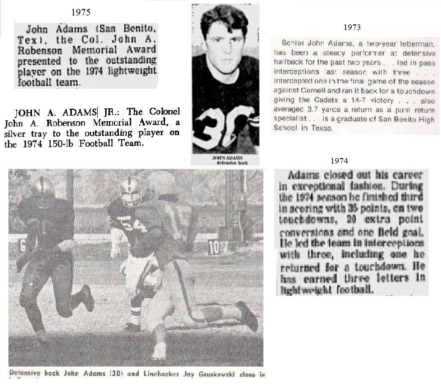 JohnAdams_1975_ArmyLFB-1974_RobensonMVP74