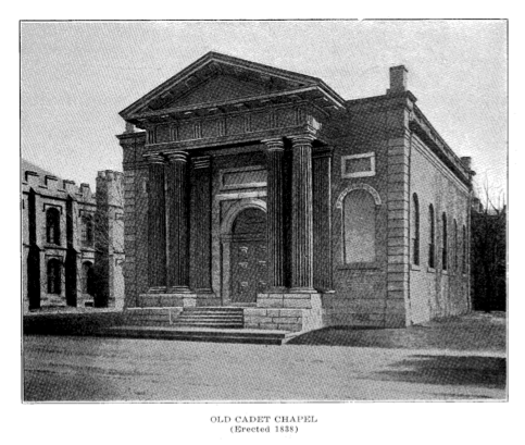 Old Chapel as it once stood