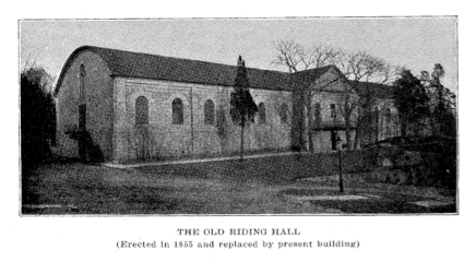 old riding hall