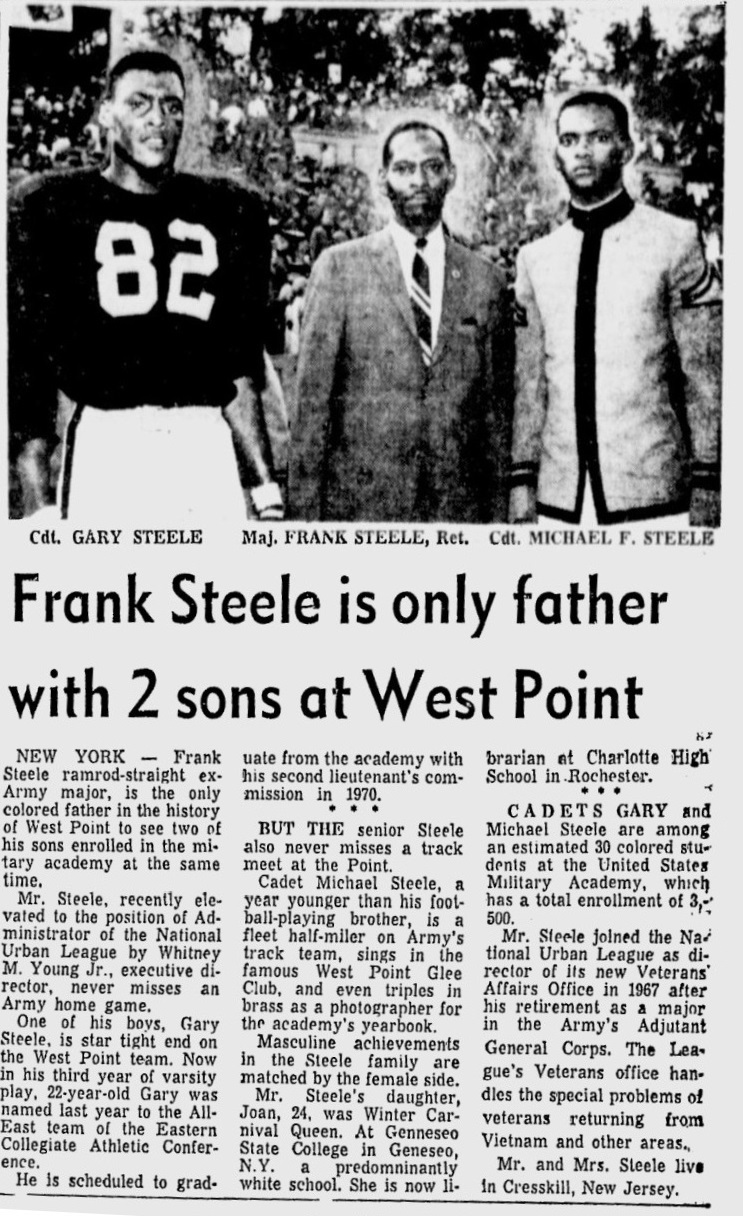 ArmyFB_1968_Steele-Father-Sons_Afro-American_Oct191968