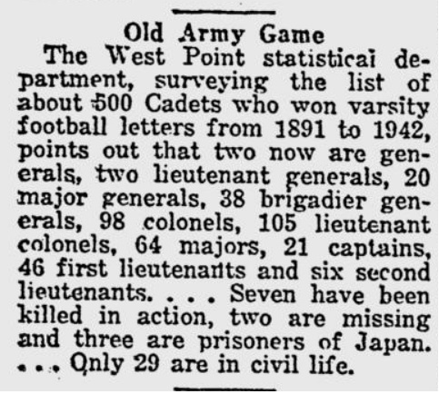ArmyFB_1943_OldArmyGame_LawrenceJournalWorld_Nov61943