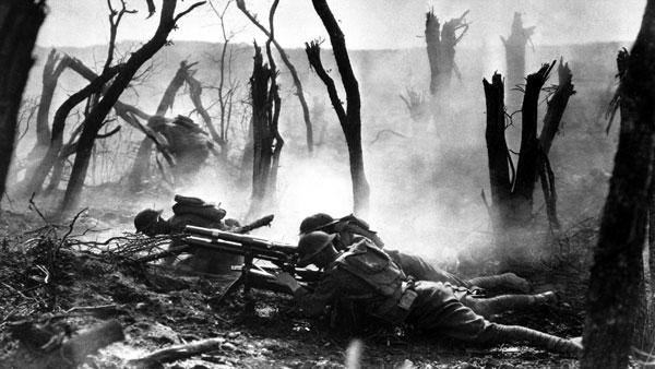 Mahine-gun-WWI