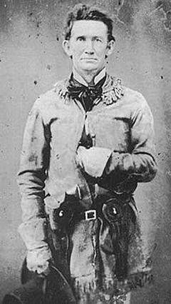 Rip Ford, who became the last victorious Confederate commander of the war at the battle of Palmito Ranch, Texas..jpg